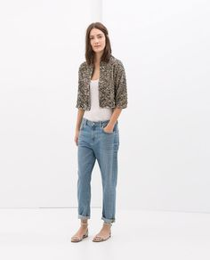 Image 1 of SEQUINNED JACKET from Zara