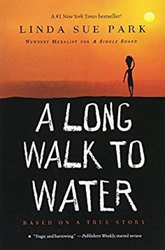 A Long Walk to Water by Linda Sue Park Chapter 16 quiz. This is a 10 question quiz based on the novel, A Long Walk to Water, using Common Core type questions including multiple choice, extended response, and vocabulary. Book Lists, Reading Lists, Guided Reading, Teaching Reading, Reading Bingo, Reading Activities, Lost Boys Of Sudan, Long Walk To Water, Books To Read