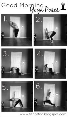 Good Morning Yoga Poses. #yoga #morningYoga #startintotheday #Yogaammorgen #googmorningyoga