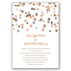 We Spotted Love Foil Wedding Invitation - Silver at Invitations By Dawn