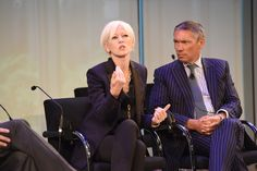 #AWXI Advertising Week:   Joanna Coles (L) and Andrew Robertson speak onstage at the Rethinking Marketing to Women #cosmopolitan #womeninleadership