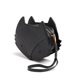 Buy our black leather fox bag crossbody wristlet clutch from bell & fox. Free UK delivery.