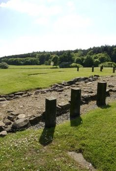 The fortlet at Kinneil, #AntonineWall.