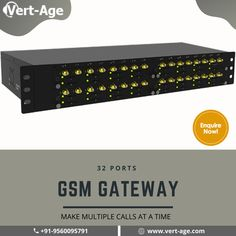 Presenting 32 Ports GSM Gateway The Best Call Route System Make Easy the Business communication process for your Business. Contact for Best Price. #GSM #gateway #CallCenter #EaseCommunication #Business #Growth #RouteSystem #VertAge #Xenottabyte Communication Process, Business Contact, Cloud Based, Make It Simple, Software, Age, How To Make