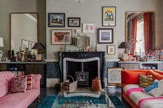 The Househunter: Colour and Elegance in a Bath Townhouse - Mad About The House