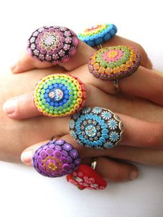 rainbow ring polymer cl