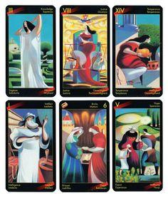 Original Dante Tarot 78 Tarotkarten Andrea Serio Giordano Berti Tarocco Tarocchi
