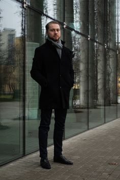 mamnaimiekarol.pl / gentleman, elegant, winter, jacket, coat, boots, monks, fashion, menfashion, menswear,
