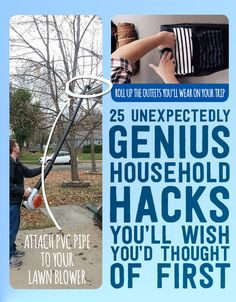 25 Unexpectedly Genius Household Hacks You'll Wish You'd Thought Of First. The grape-cutting tip is useful.