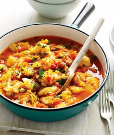 Fish Stew, Ninja Recipes, How To Cook Fish, How To Dry Oregano, Crockpot, Slow Cooker, Seafood, Curry, Food And Drink