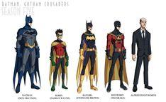 Batman: Gotham Crusaders - Season Six by phil-cho on DeviantArt I Am Batman, Batman Robin, Marvel Dc Comics, Batman Stuff, Marvel Funny, Batwoman, Batgirl, Nightwing, Gotham
