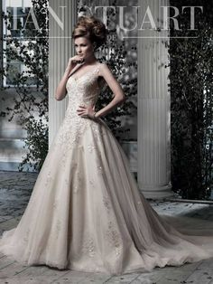 Designer Ian Stuart Wedding Dress 2013