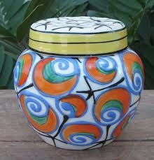 Czech art deco pottery
