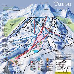 Turoa Ski Resort Piste Map