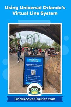 How to use Universal Orlando Virtual Line system Attractions In Orlando, Orlando Resorts, Universal Studios Florida, Universal Orlando, Island Of Adventure Orlando, Volcano Bay, Orlando Theme Parks, Orlando Travel, Florida Vacation