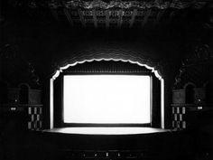 Movie Theatre Photo by Hiroshi Sugimoto. 1979. Silver Gelatin