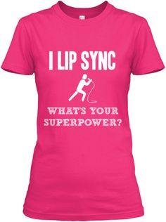 I LIP SYNC - 6 Days Only  http://teespring.com/i-lip-sync Do you like it? #Lipsync #lipsyncbattle #lsb #t-shirt