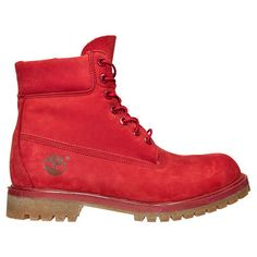 """The 6"""" premium TIMBERLAND RED RELEASE is back for spring with LIMITED SUPPLIES!"""