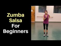 Zumba Salsa For Beginners + Salsa Practice - Fitness With Cindy - A salsa for beginners video will help you learn the basic Zumba salsa moves, and an intermediate vi - Salsa For Beginners, Zumba For Beginners, Salsa Moves, Senior Fitness, Zumba Fitness, Fitness Logo, Squats Fitness, Fitness App, Fitness Style