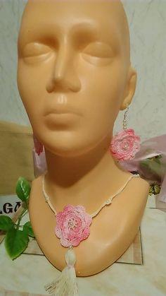 Silviatetetami / Náhrdelník s náušnicami Crochet Earrings, Drop Earrings, Jewelry, Fashion, Colors, Jewellery Making, Moda, Jewelery, Drop Earring