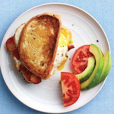 Ideas breakfast for dinner recipes breads for 2019 Breakfast Toast, Breakfast For Dinner, Best Breakfast, Breakfast Recipes, Dinner Recipes, Sandwich Bar, Dinner Sandwiches, Breakfast Sandwiches, Best Avocado Recipes