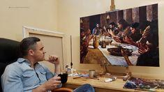 Coffee and Studio - The Last Supper . Last Supper, Fine Art, Coffee, Studio, Artist, Painting, Kaffee, Painting Art, Studios