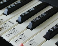 $18 AUD - Keyboard Or Piano Stickers Up To 88 Keys For The Black & White Keys Learn Faster #ebay #Lifestyle