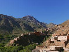 Z GÓRAMI W TLE: Imlil. Nie tylko Toubkal, czyli trekking w Atlasie Wysokim - część druga - przełęcz Tizi n'Mzik