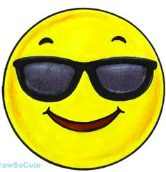 Emoji W/ Sunglasses