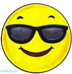Emoji W/ Sunglasses