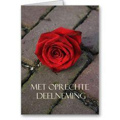 Dutch Sympathy Met oprechte deelneming Cards