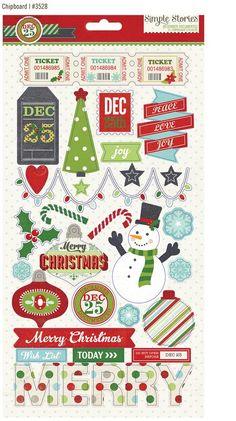December Documented Chipboard