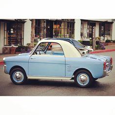 Fiat 500 Autobianchi Bianchina 1959.