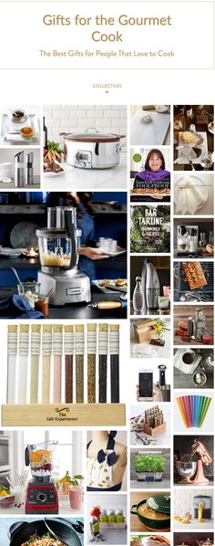 Christmas gifts for gourmet cooks