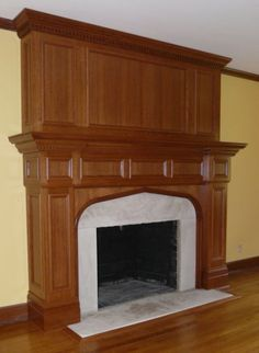 Fireplace from tudor artisans design tudor and for Tudor style fireplace