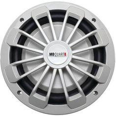 Mb Quart Nw1-254 Nautic Series Marine-certified 10 inch 600-watt Shallow Subwoofer, No Illumination, Multicolor