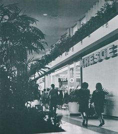 1965 photo of a Kresge store at the brand new Westland Center, near Detroit.