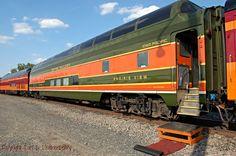 "Great Northern Railway No. 1394, ""Prairie View,"" Iowa Pacific Holding SLRG No. 1394, Private car No. 800606. Minnesota, Minneapolis | Flickr - Photo Sharing!"