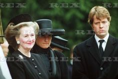 FUNERAL OF EARL SPENCER, CHURCH OF ST MARY THE VIRGIN, GREAT BRINGTON, BRITAIN - 1992 PRINCESS DIANA 1 Apr 1992