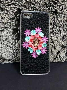 Hey, I found this really awesome Etsy listing at https://www.etsy.com/listing/185969108/iphone-5-case-decorated-with-rhinestones
