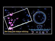New Blackscreen Template video editing in Kinemaster || Kinemaster new status editing || Template