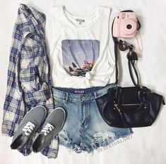 love everything but the purse. replace with penny board pleasse
