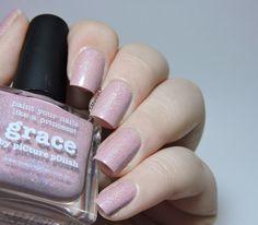 piCture pOlish Blog fest 2014 - piCture pOlish Grace - swatch - nails