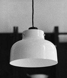 Original Max Bill lamp designed by Miguel Milá