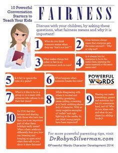 10 Powerful Conversation Starters to Teach Your Kids Fairness