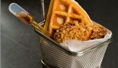 Chicken and Waffles Food Truck Style