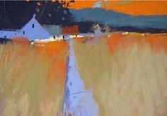Por amor al arte: Tony Allain Pastel Landscape, Abstract Landscape Painting, Landscape Art, Landscape Paintings, Abstract Art, Claude Monet, Painting & Drawing, Knife Painting, Pastel Art