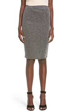 Leith Leith Herringbone Pencil Skirt available at #Nordstrom