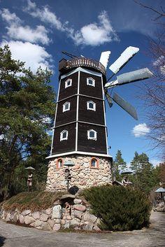 Windmill in Druskininkai, Lithuania