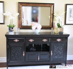 Dining Room Buffet Sideboard Makeover With Smart Strip
